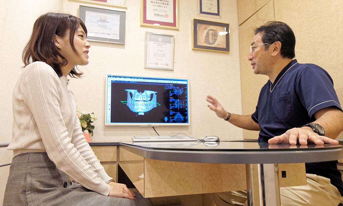 歯科CTでの診断